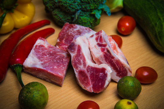 Pork Sparerib Cut Cube